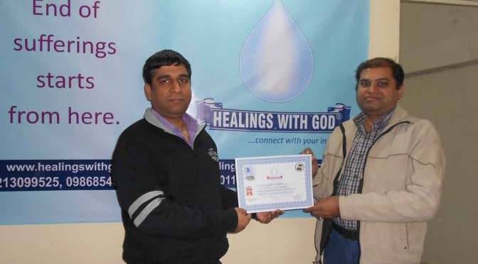 Healings with god